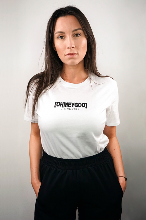 OHMEYGOD Shirt white