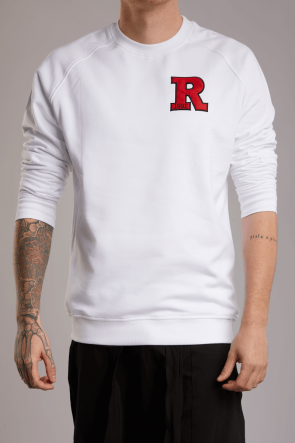 Rey Patch Sweater weiß