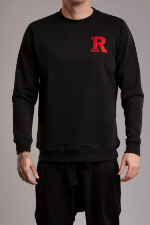 Rey Patch Sweater schwarz