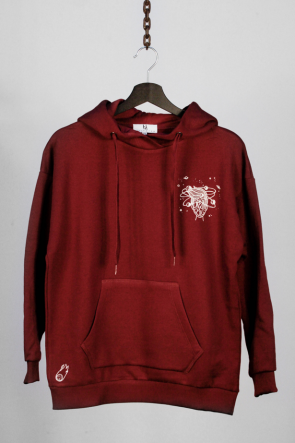 Dream Big Universe - Bordeaux Hoodie
