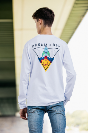 Dream Big Rocket Longsleeve