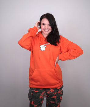 Spookyhoodie Pumpkin Orange